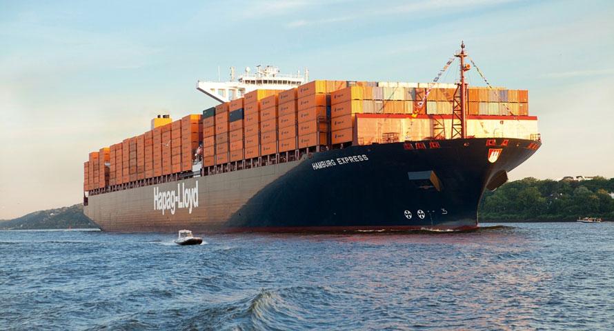 Hapag-Lloyd container ship